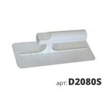 Кельма белая пластиковая прямоугольная Венеция D2080S