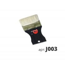 Декоративная кисть с искусственной щетиной деревянная ручка J003