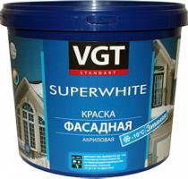 """Краска ВД-АК-1180 фасадная """"Зимняя"""" супербелая"""