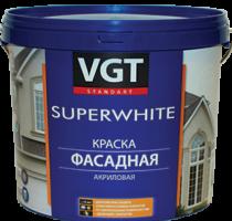 Краска акриловая фасадная «Супербелая» ВД-АК-1180