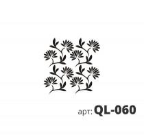 Трафарет виниловый ЖАСМИН QL-060
