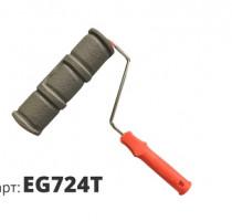Декоративный жесткий резиновый валик КИРПИЧИ EG724T